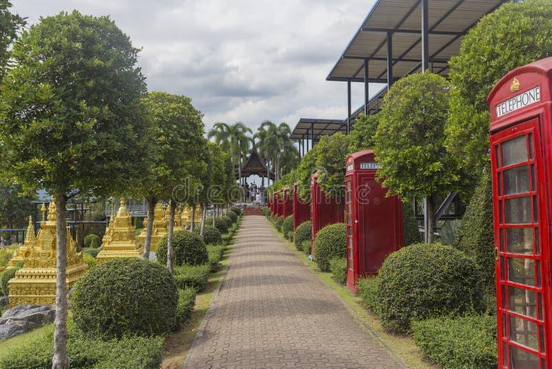 Nong Nooch Tropical Garden in Pattaya, Thailand. stock image