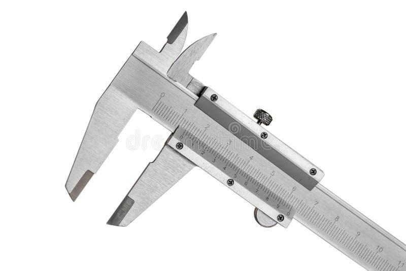 Noniuszy calipers zdjęcie stock