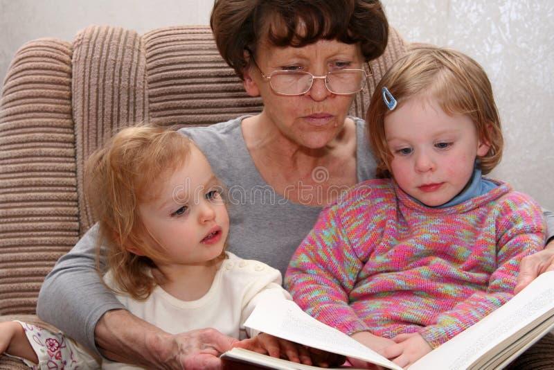 Nonna fotografia stock