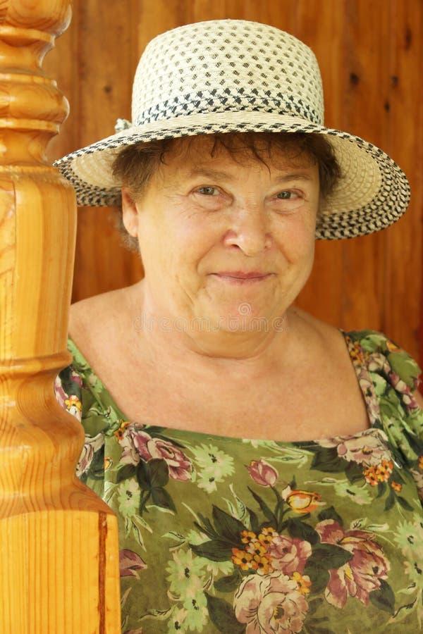 Nonna Cara Fotografia Stock