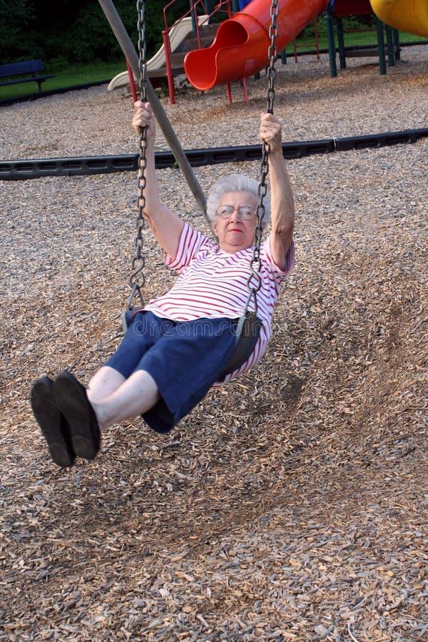 Nonna d'oscillazione 4 fotografie stock