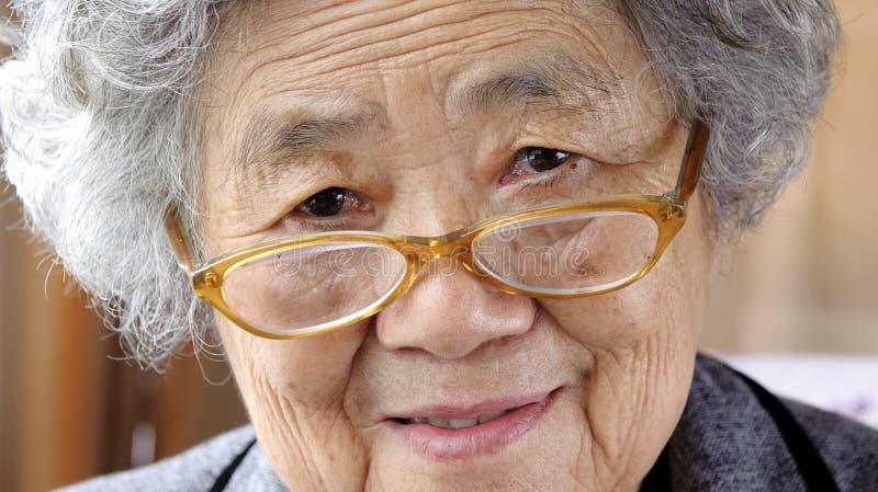 Nonna felice fotografie stock