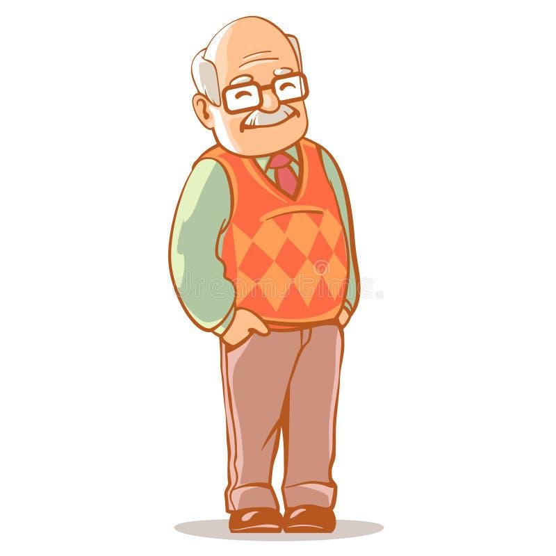 nonno royalty illustrazione gratis