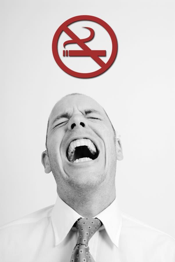 Nonsmoking royalty-vrije stock fotografie