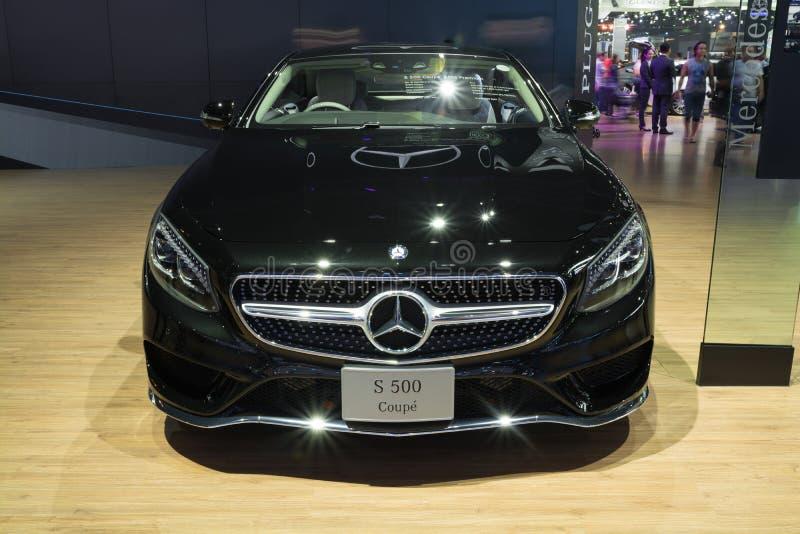 NONTHABURI - 23 ΜΑΡΤΊΟΥ: ΝΕΟ Benz Gls S500 Coupe AMG της Mercedes στο Di στοκ εικόνα