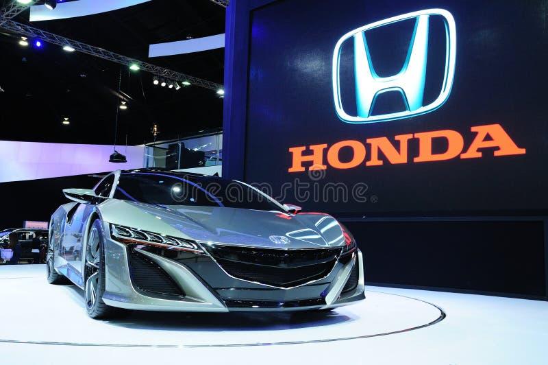 NONTHABURI - 28 DE NOVIEMBRE: Concepto de Honda NSX, concep híbrido del deporte imagenes de archivo