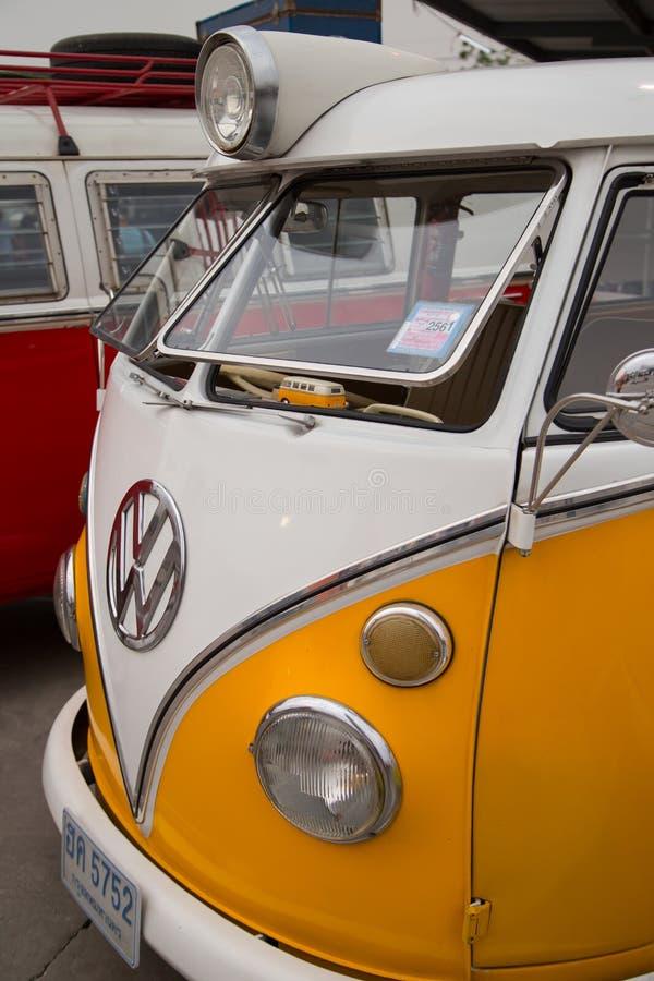Volkswagen van owners club meeting in Thailand royalty free stock photos