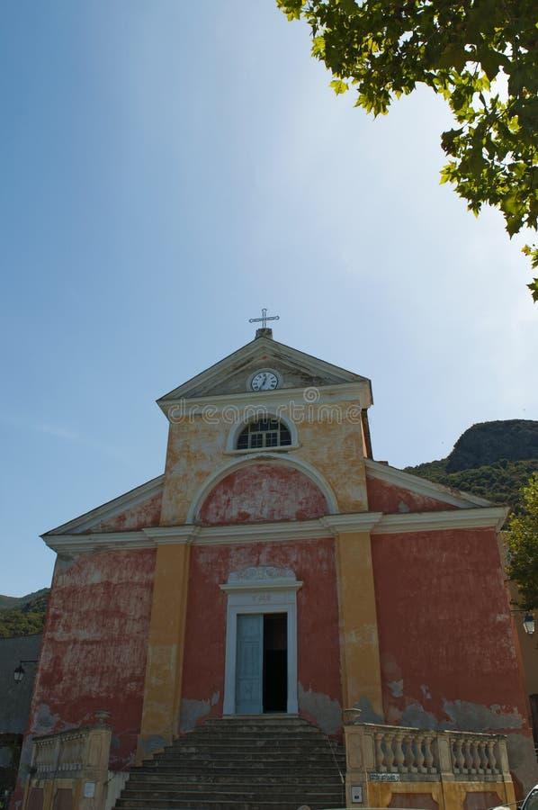 Nonza, Haute Corse, Corsica, Górny Corsica, Francja, Europa, wyspa zdjęcie royalty free