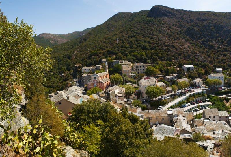 Nonza, Haute Corse, Corsica, Górny Corsica, Francja, Europa, wyspa zdjęcie stock