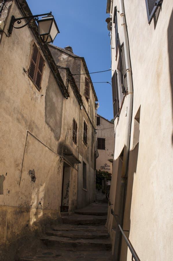 Nonza Haute Corse, Korsika, oberes Korsika, Frankreich, Europa, Insel lizenzfreie stockbilder