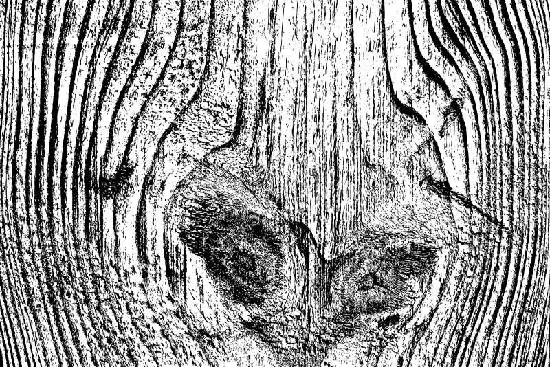 Nood Houten Textuur vector illustratie