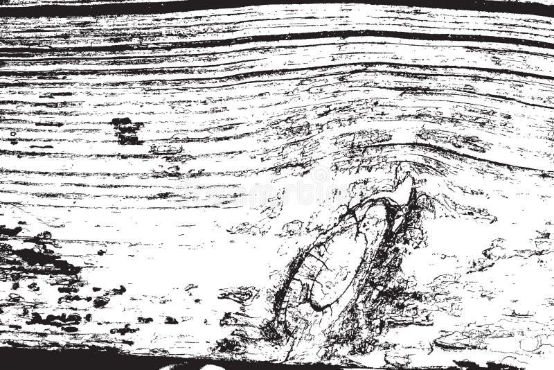 Nood Houten Textuur stock illustratie