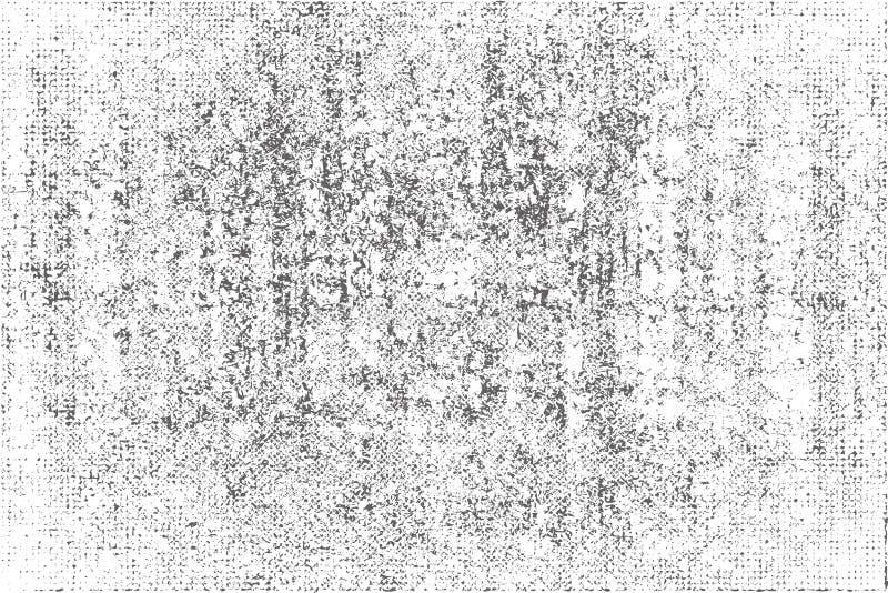 Nood, vuiltextuur Vector illustratie Kan als prentbriefkaar worden gebruikt Patroon met barsten stock illustratie