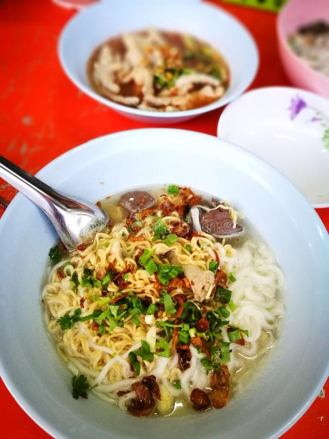 Nooddle Vietnamees royalty-vrije stock foto