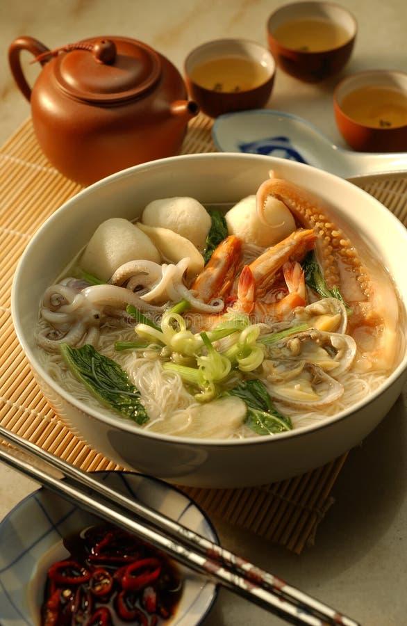 noodle θαλασσινά στοκ εικόνα με δικαίωμα ελεύθερης χρήσης