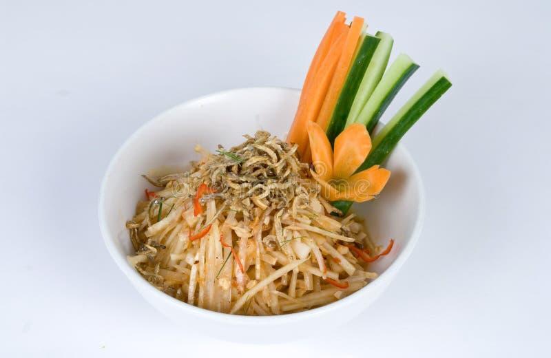 noodle κύπελλων γαρίδες στοκ εικόνες