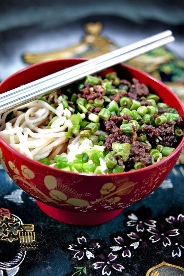 Noodle πιάτο στοκ φωτογραφία