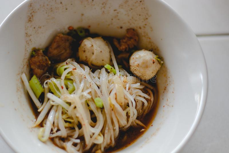 noodle ύφος Ταϊλανδός στοκ φωτογραφίες με δικαίωμα ελεύθερης χρήσης