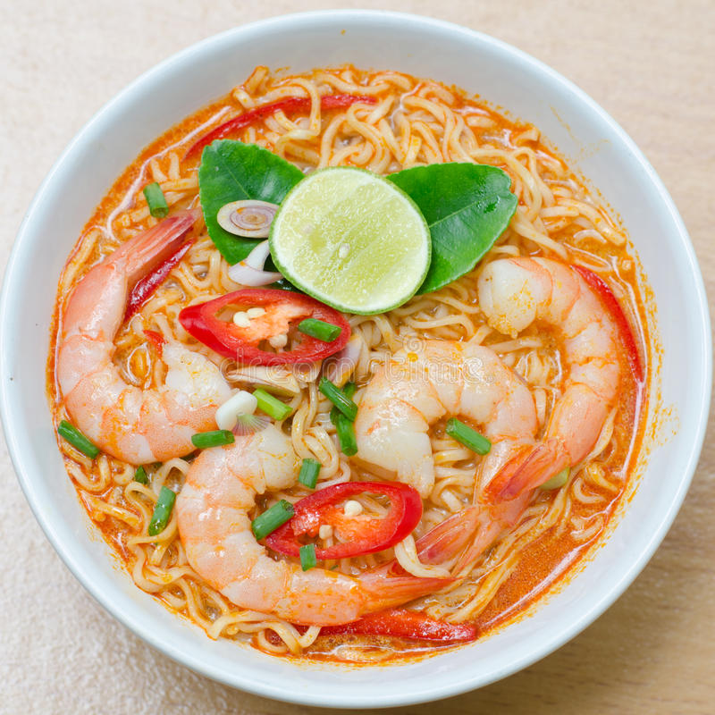 noodle ύφος Ταϊλανδός στοκ εικόνα με δικαίωμα ελεύθερης χρήσης
