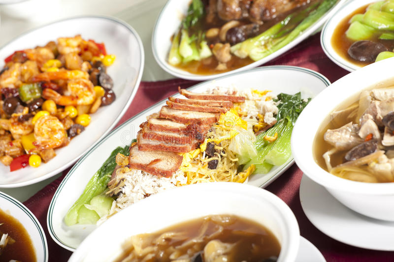 Noodle dish stock photography