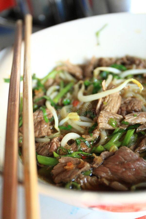 Free Noodle Soup Royalty Free Stock Images - 8120269