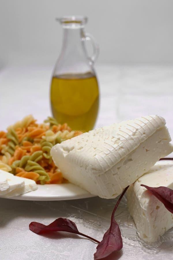 noodles αιγών τυριών στοκ φωτογραφία με δικαίωμα ελεύθερης χρήσης