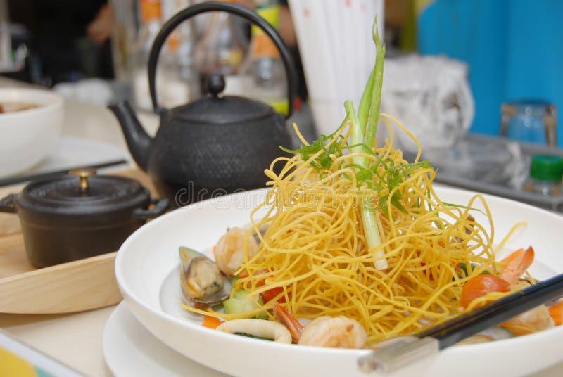 noodles θαλασσινά στοκ εικόνα με δικαίωμα ελεύθερης χρήσης