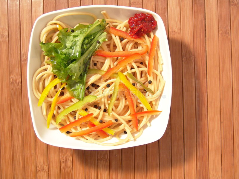 noodles zdjęcia stock