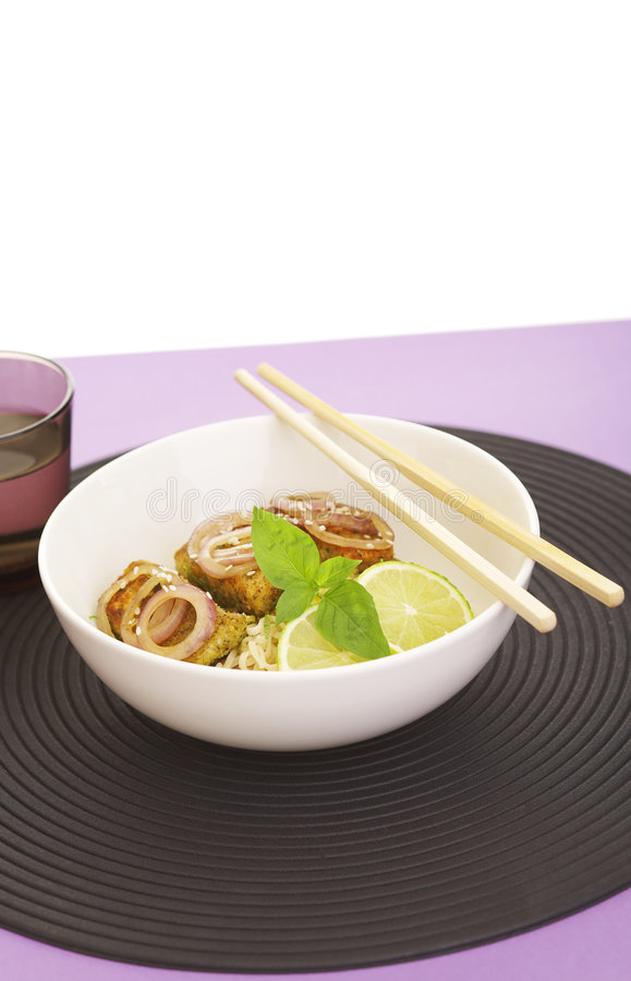 Free Noodles And Fish Stock Images - 3178354