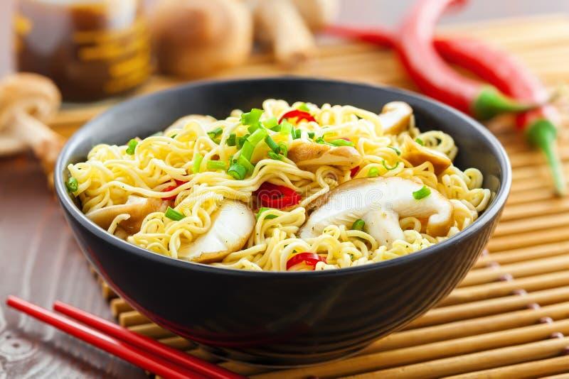 noodles azjatykci zdjęcia royalty free