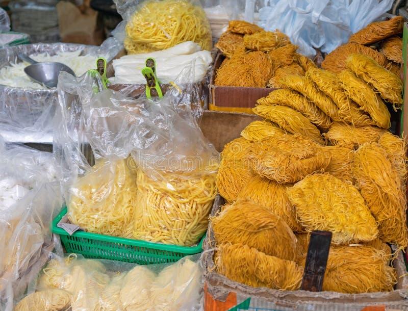 Noodles Bulk imagem de stock