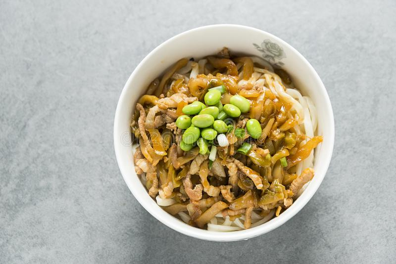 noodles chi?skich zdjęcie stock