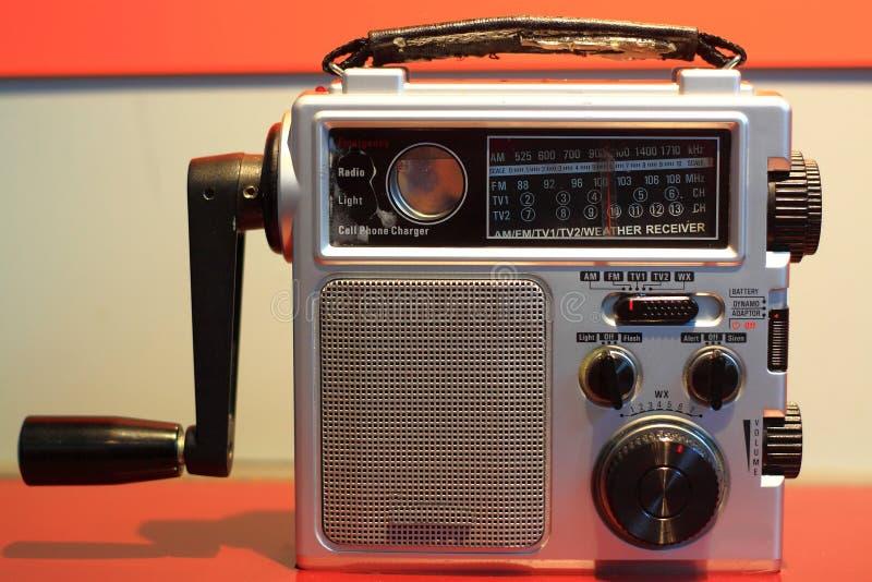 Noodsituatie Radioontvanger royalty-vrije stock foto