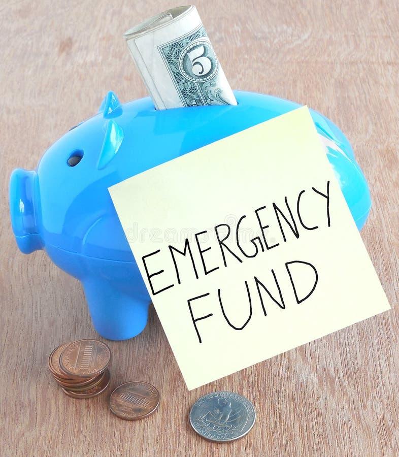Noodsituatiefonds stock foto