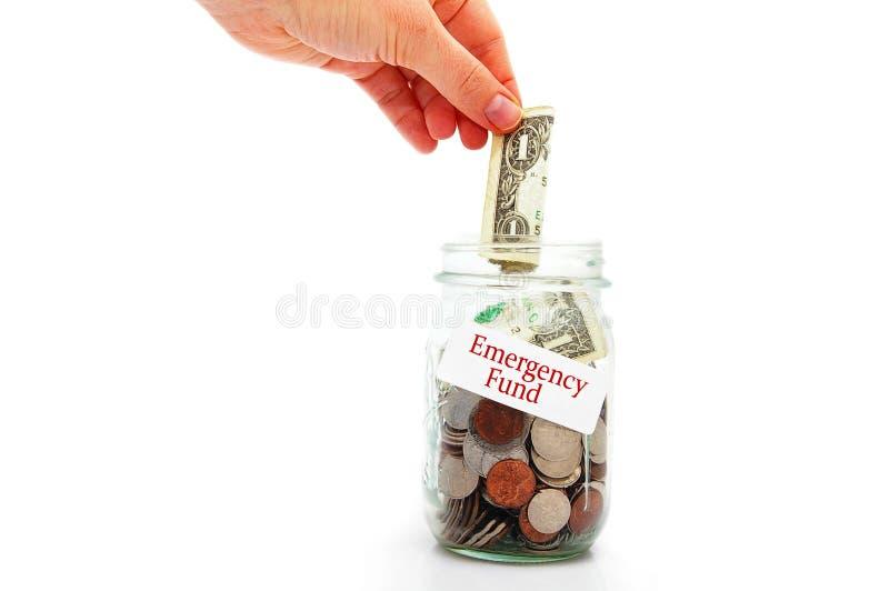 Noodsituatiefondsen royalty-vrije stock afbeelding
