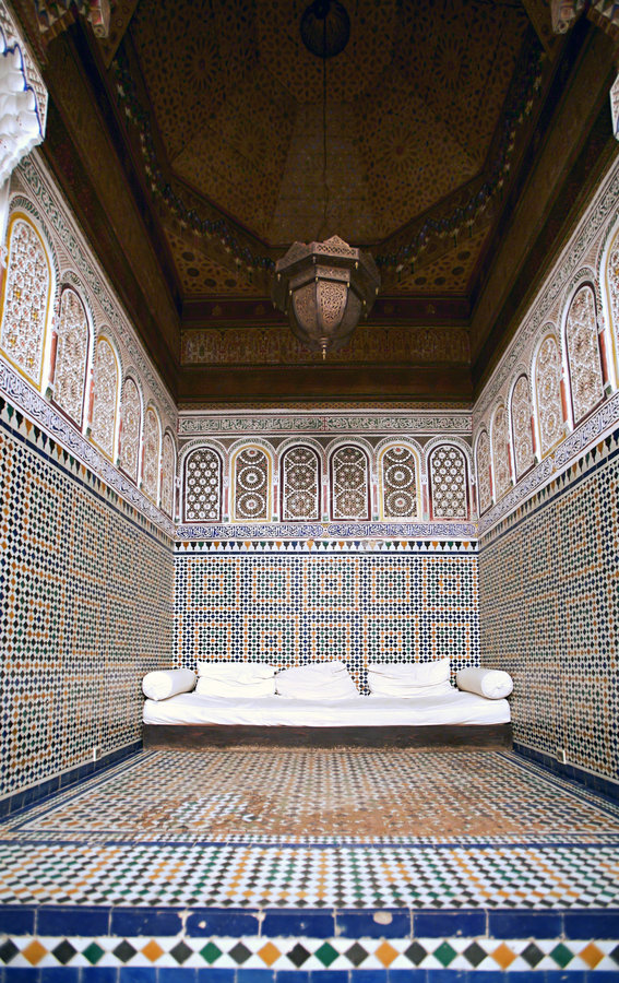 Download Nook At The Marrakesh Museum Stock Photo - Image: 1710582