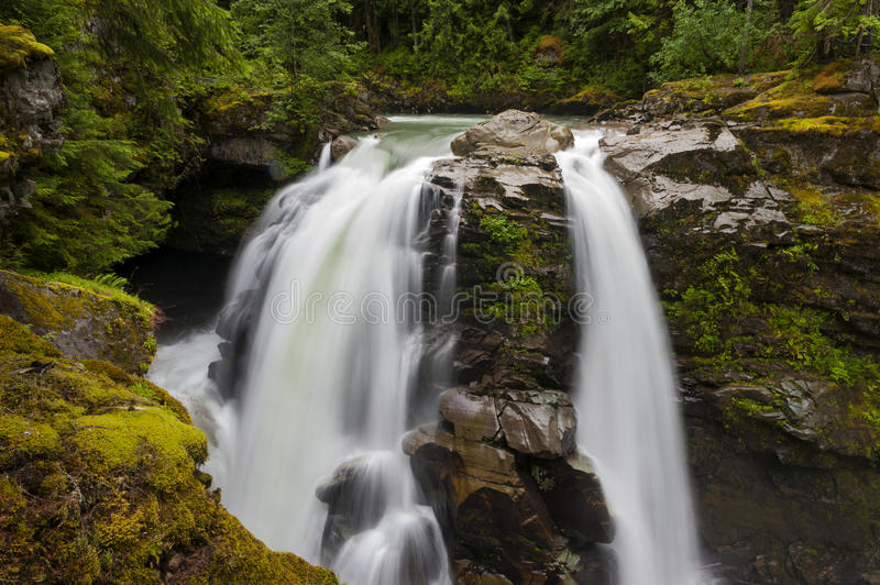 Nooksack Falls stock photography