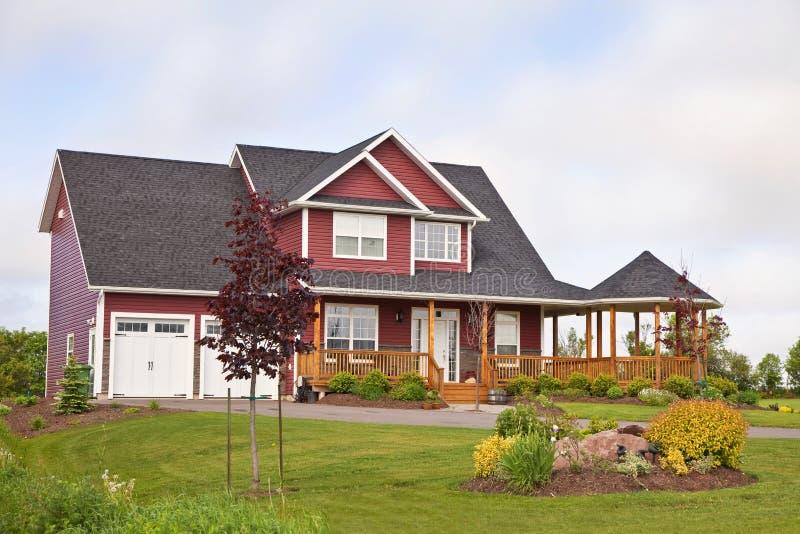 Noordamerikaans Huis stock foto's