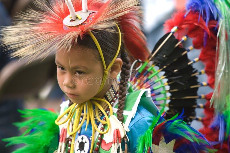 Noordamerikaanse Indische Wow Pow. stock afbeeldingen