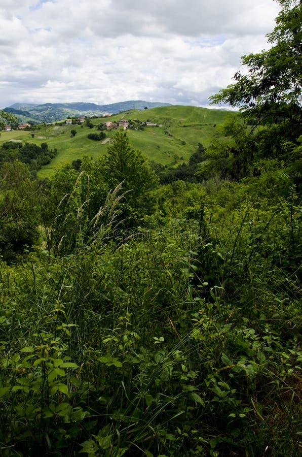 Noordelijk Italië - Landschap stock foto