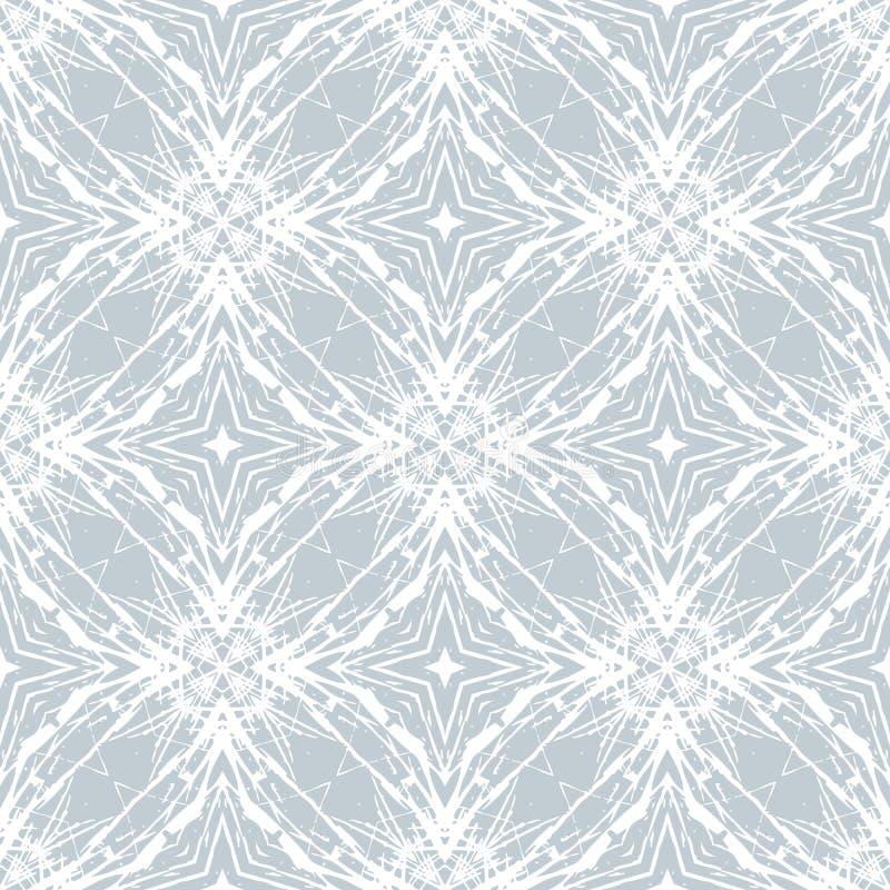 Noordelijk ontwerp, schoon vector geometrisch patroon royalty-vrije illustratie