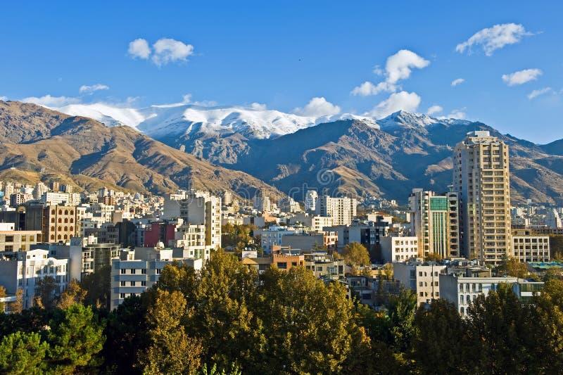Noordelijk Teheran stock foto