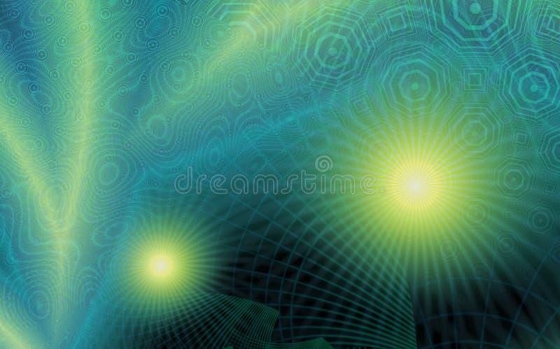Noordelijke Lichten vector illustratie