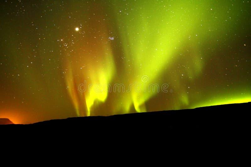 Noordelijke Lichten royalty-vrije stock foto's