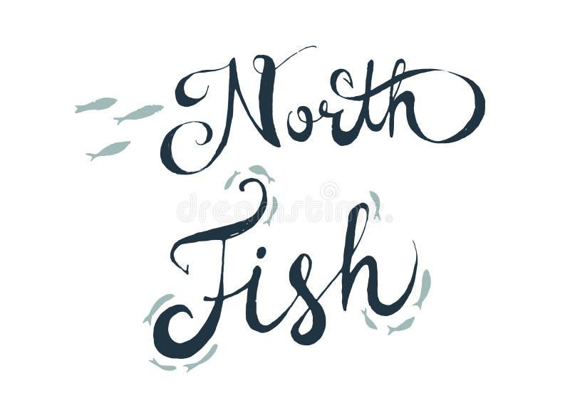 Noorden die fith het van letters voorzien royalty-vrije stock afbeelding