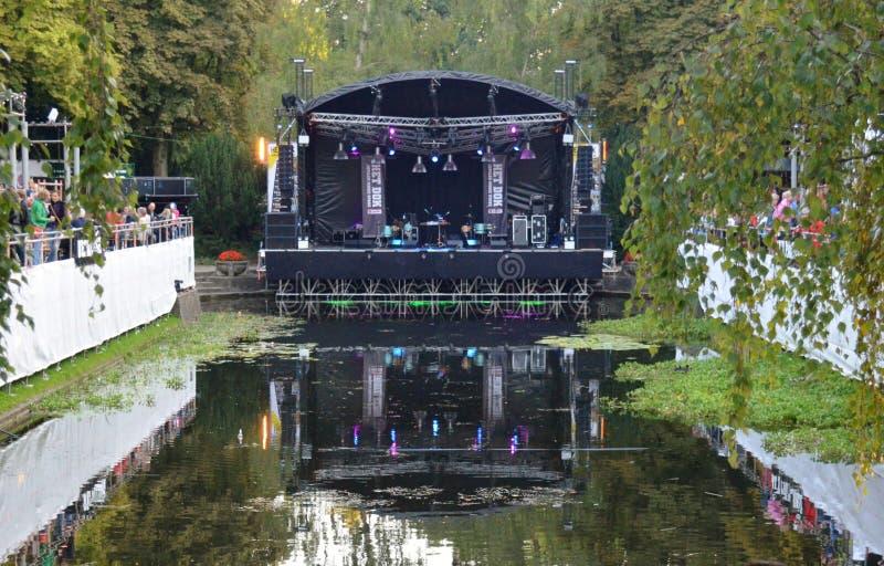 Noorderzon Groninga 2014 Paesi Bassi immagini stock