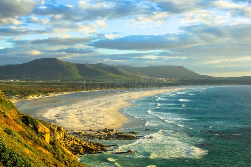Noordhoek海滩南非 免版税库存图片