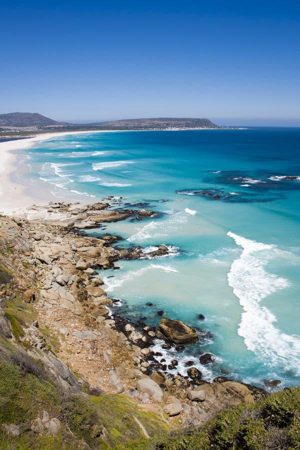 Noordhoek-Strand, Cape Town stockfotografie