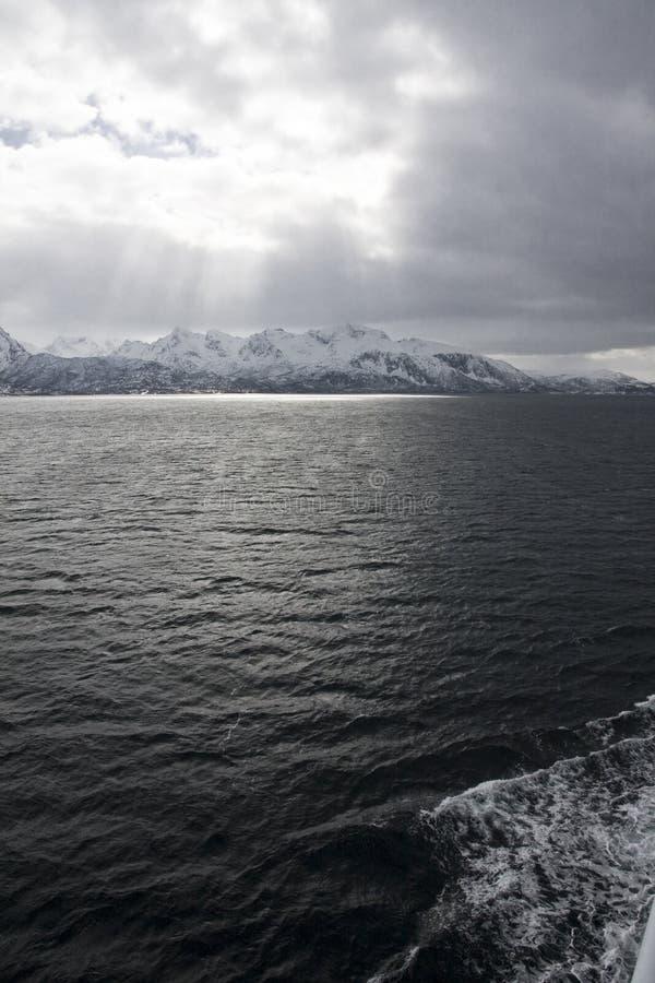 Noordpool oceaan stock afbeeldingen