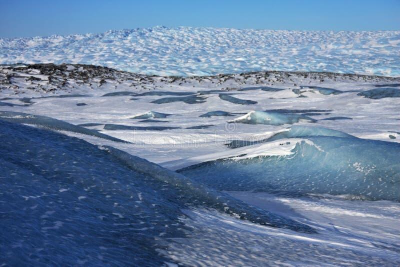 Noordpool Wildernis in Groenland royalty-vrije stock fotografie